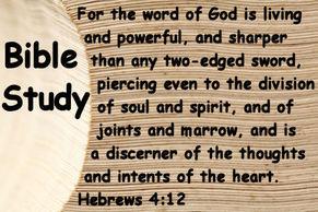 Bible Study - Women's Ministry - Bible Study - Encouragement